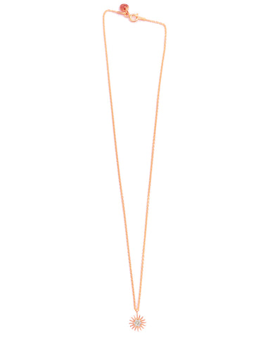 It's Simple Full Moon Necklace | Gold