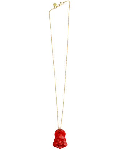 Florence Necklace | Ruby Quartz