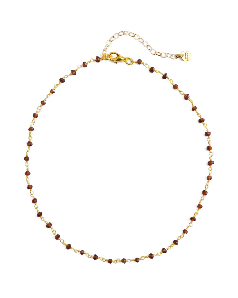 Floating Choker | Garnet | Web Exclusive