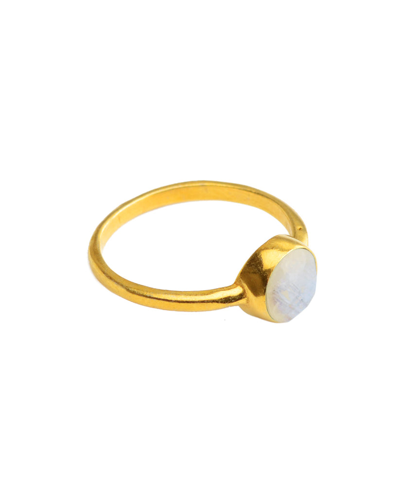 Feel Good Ring | Moonstone