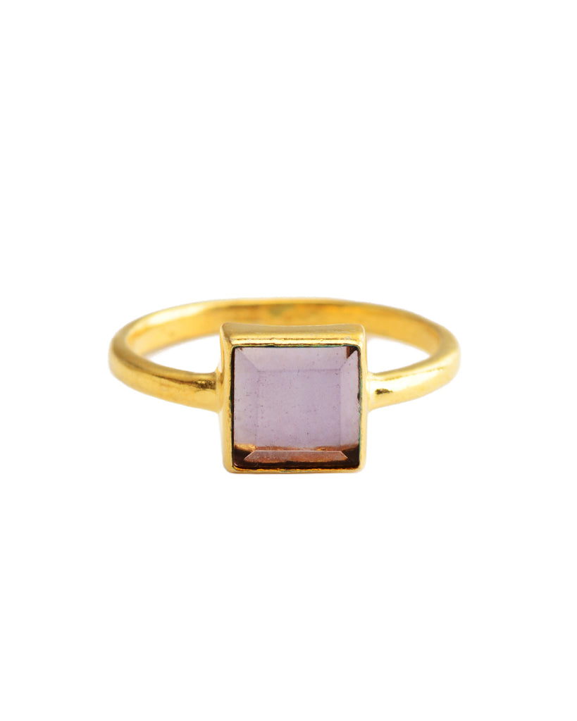 Sunshine Ring | Amethyst