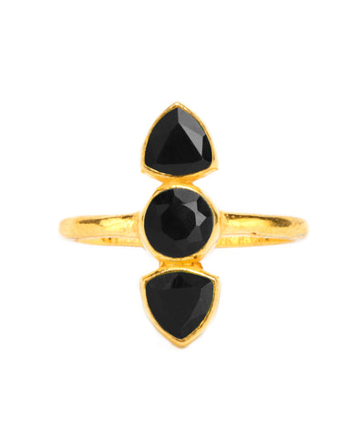 Hello Ring | Black Onyx