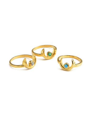 Three's A Charm Ring