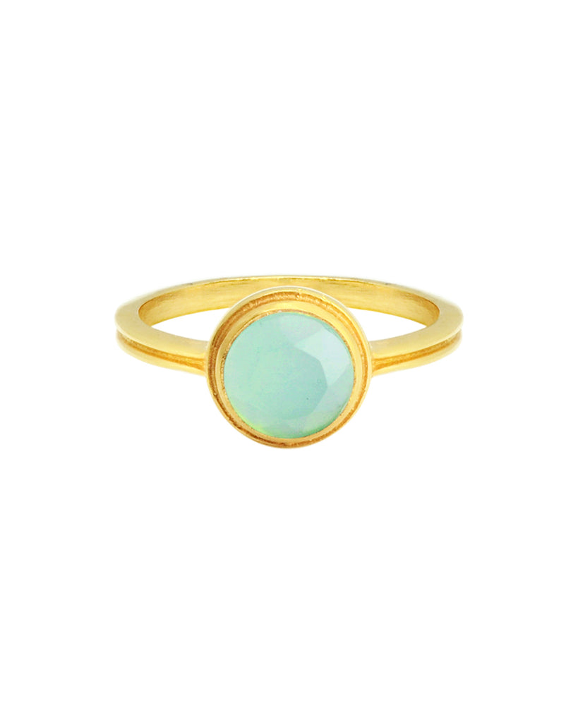 The Buttercup Ring | Chalcedony