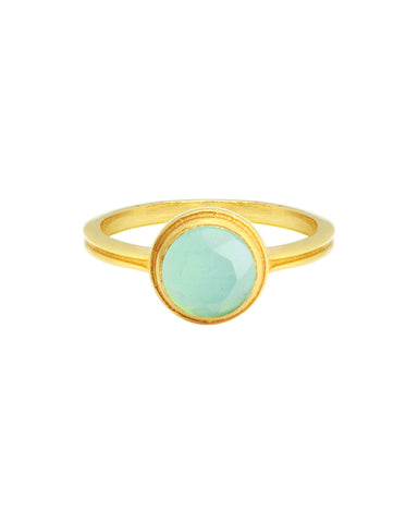 Summer Moon Ring | Silver