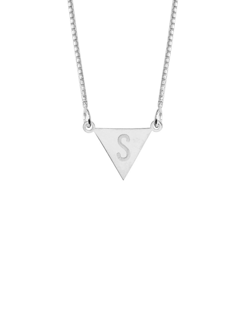 Say My Name Necklace | Silver