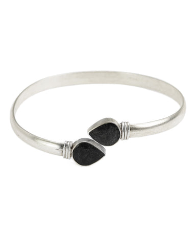 Renaissance Rectangle Cuff | Black Onyx