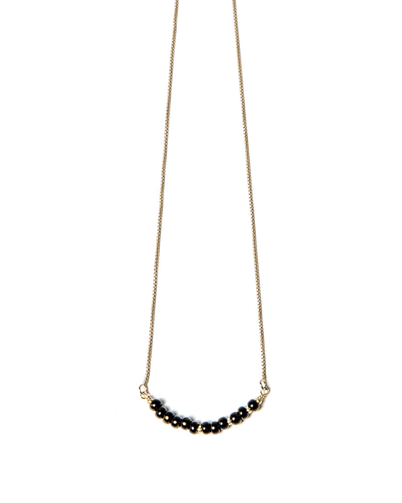 Cosmos Necklace | Black Onyx