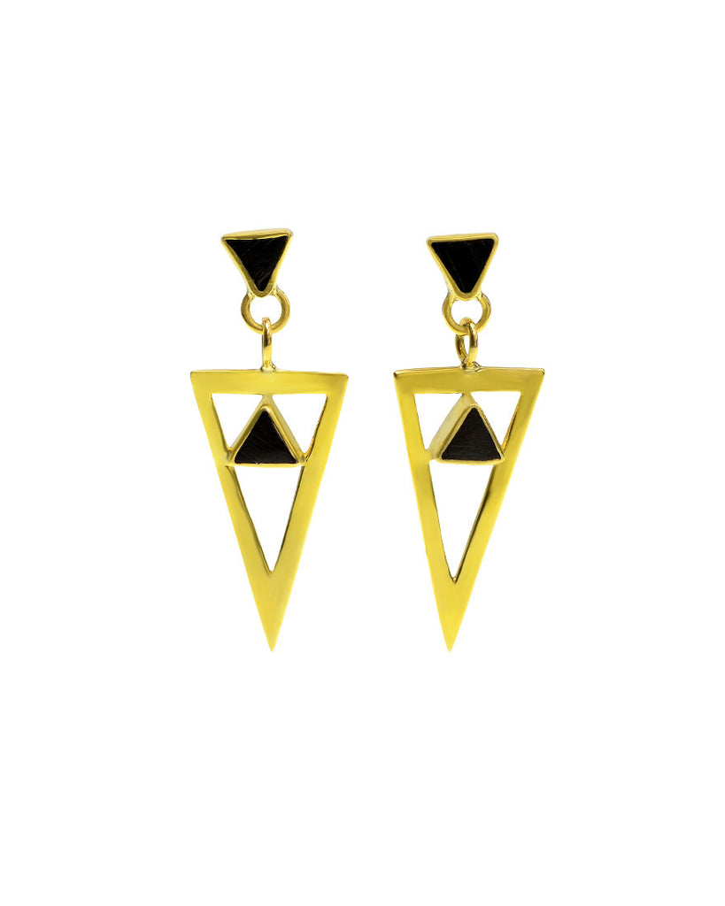 Dark Side of the Moon Earrings