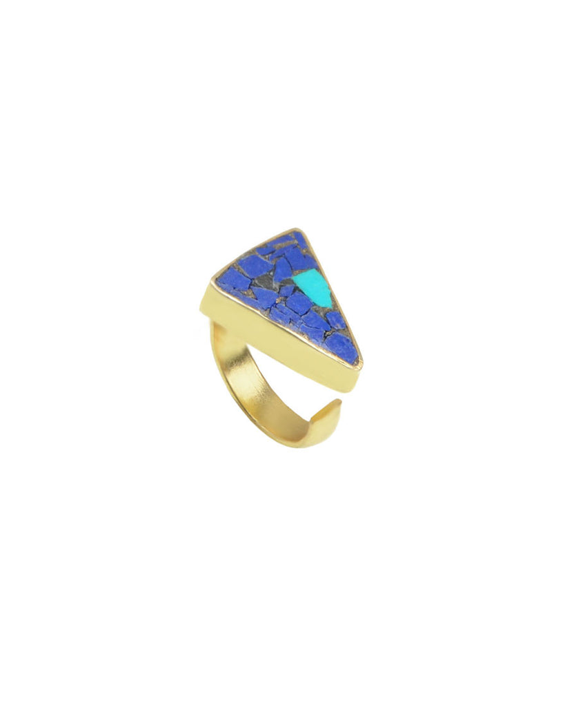 Desert Moon Ring | Lapis