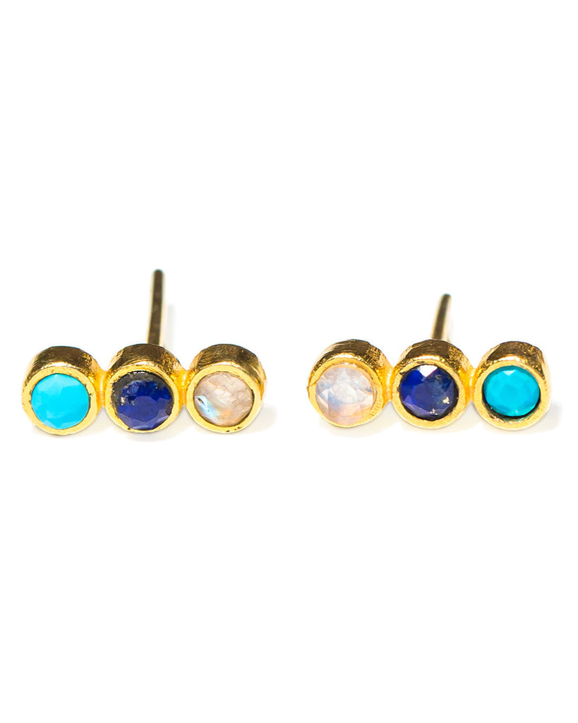 Creedence Studs | Blue Mix