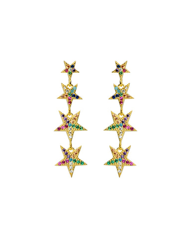 Blissful Studs | Rainbow