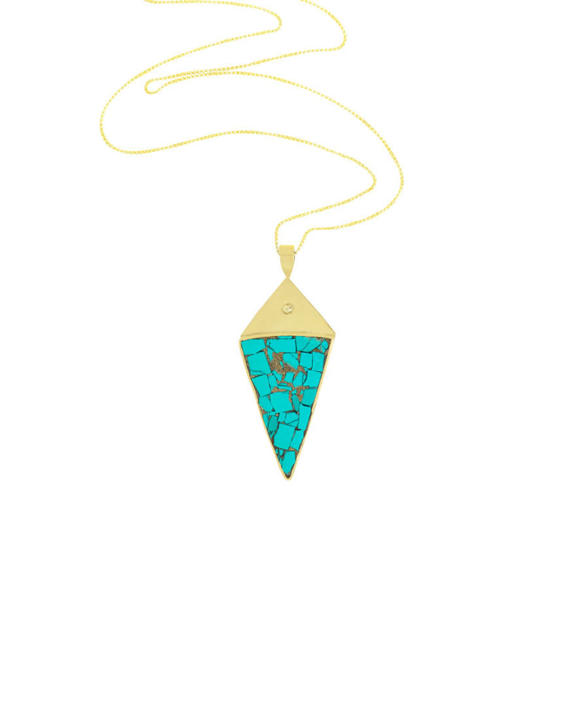 Gypsy Necklace | Turquoise