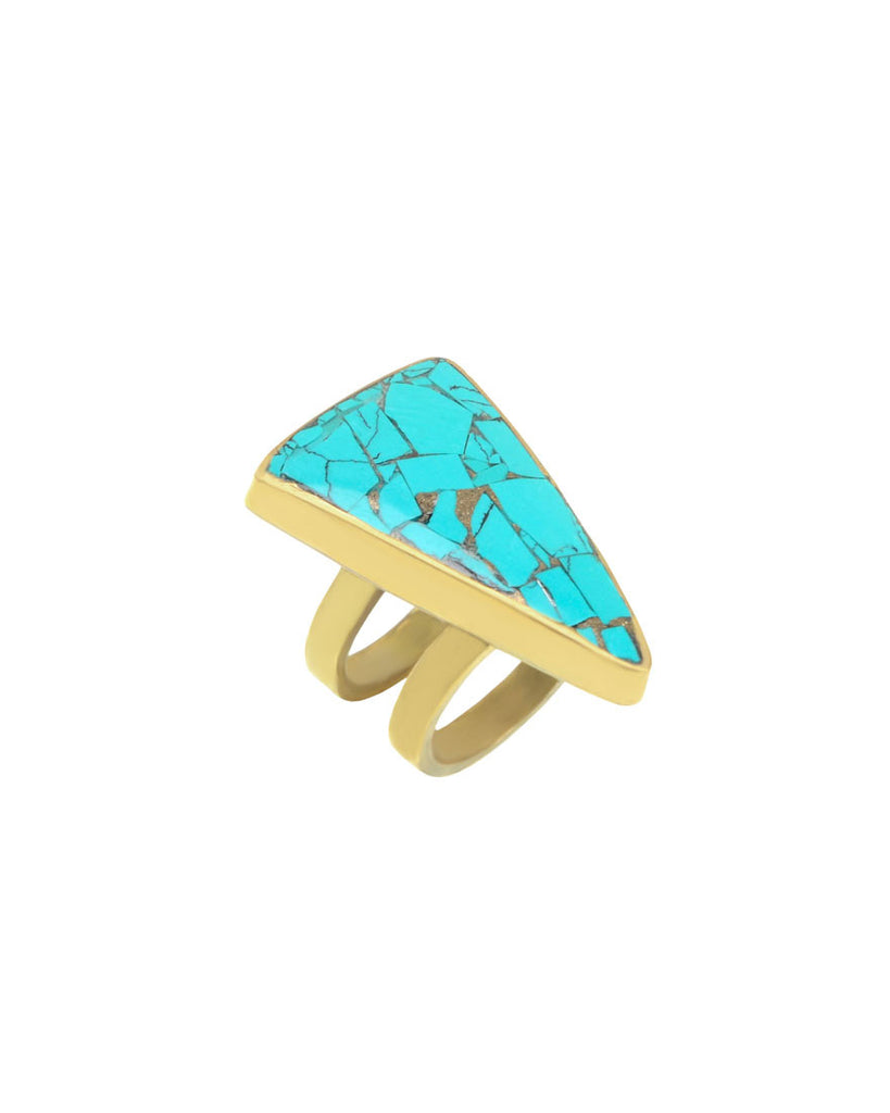 Gypsy Ring | Turquoise