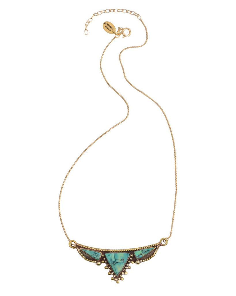 Knomad Necklace | Turquoise