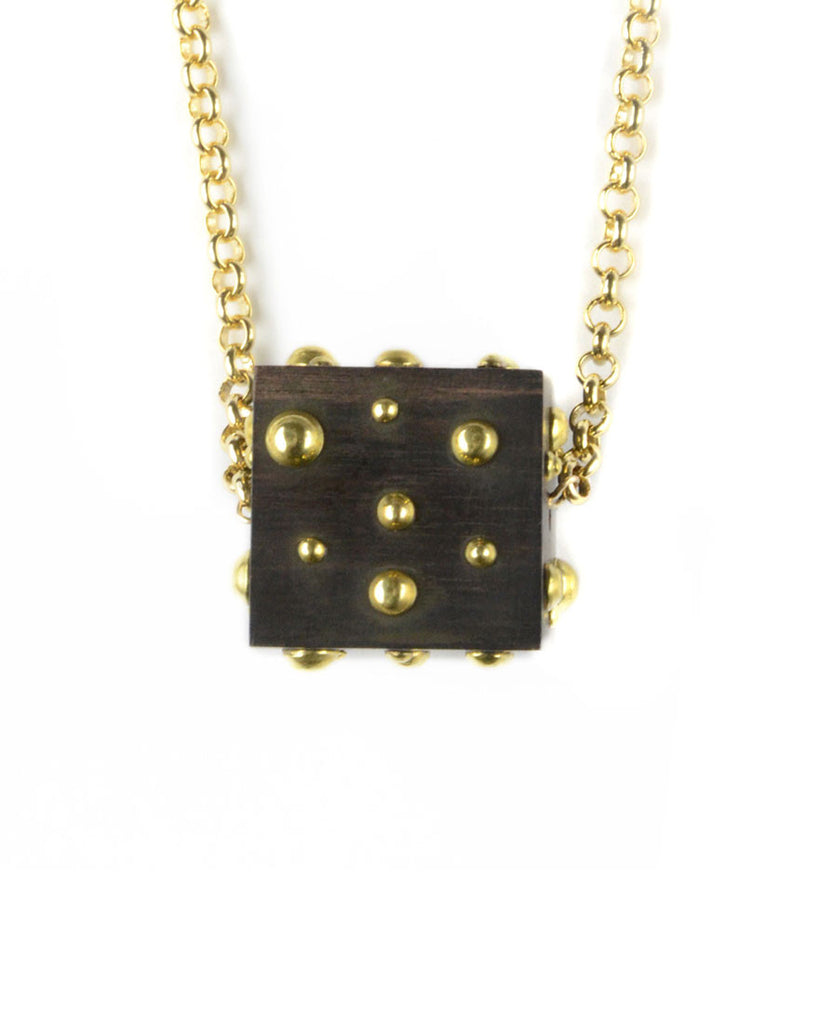Lady Luck Large Cube Necklace