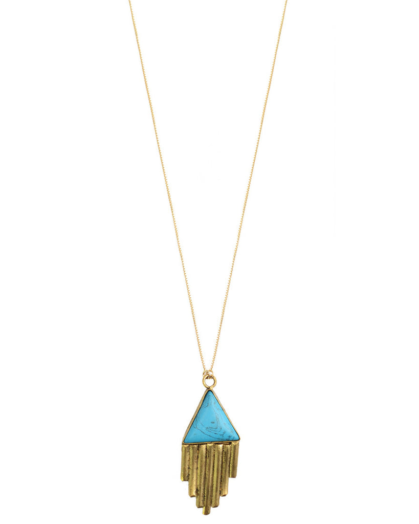 Sedona Necklace - Turquoise Inspired
