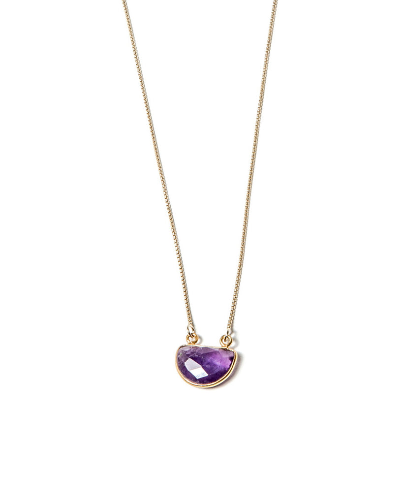 Moonshine Necklace - Amethyst