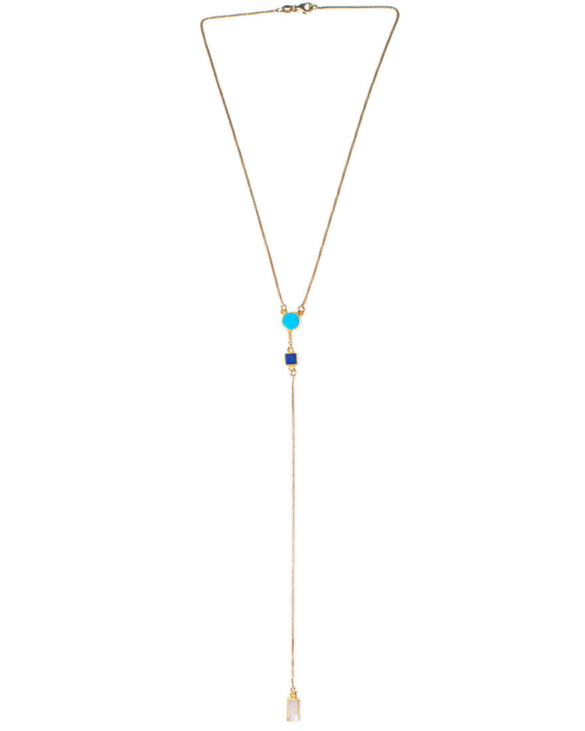Rollin' Necklace | Turquoise Mix