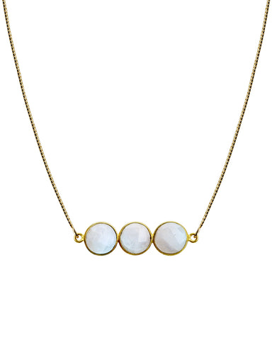 Hello Necklace | Moonstone