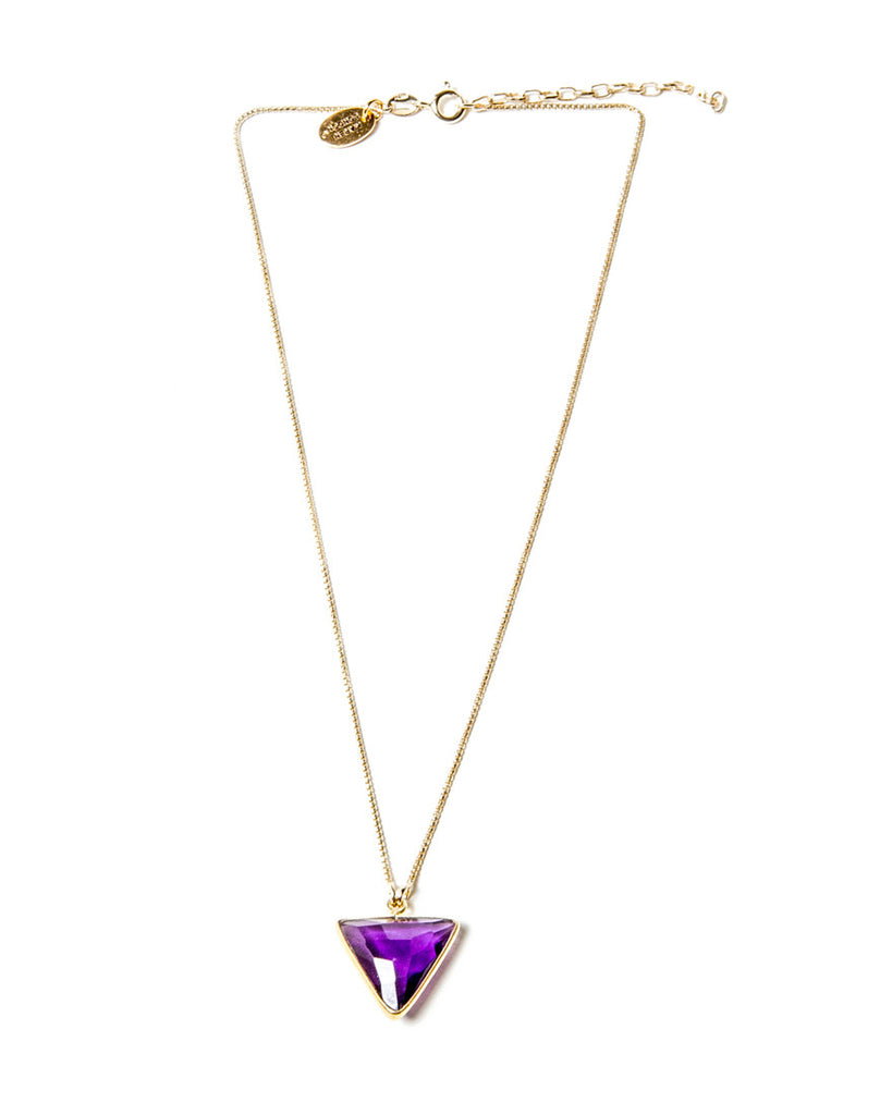 North Star Necklace | Amethyst