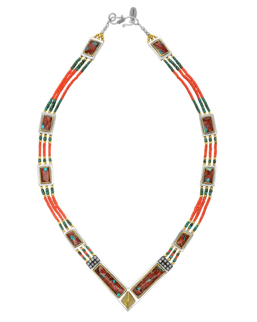 Shangri-la Necklace | Coral