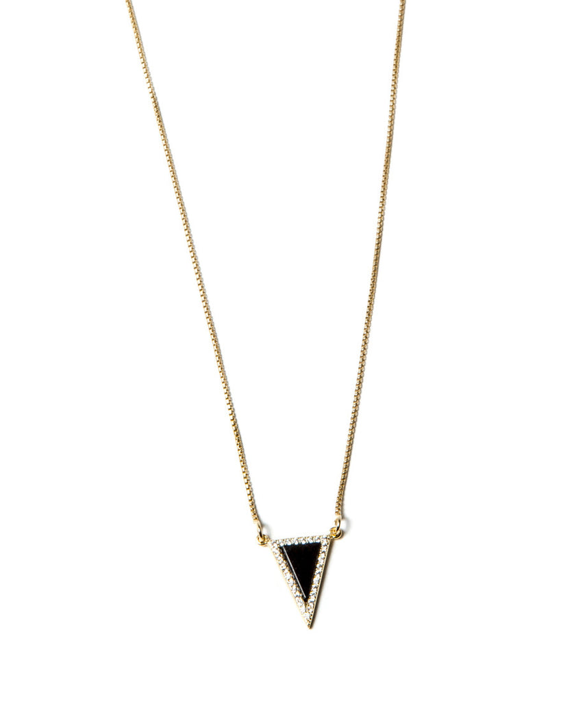 Shine Bright Necklace | Black Onyx