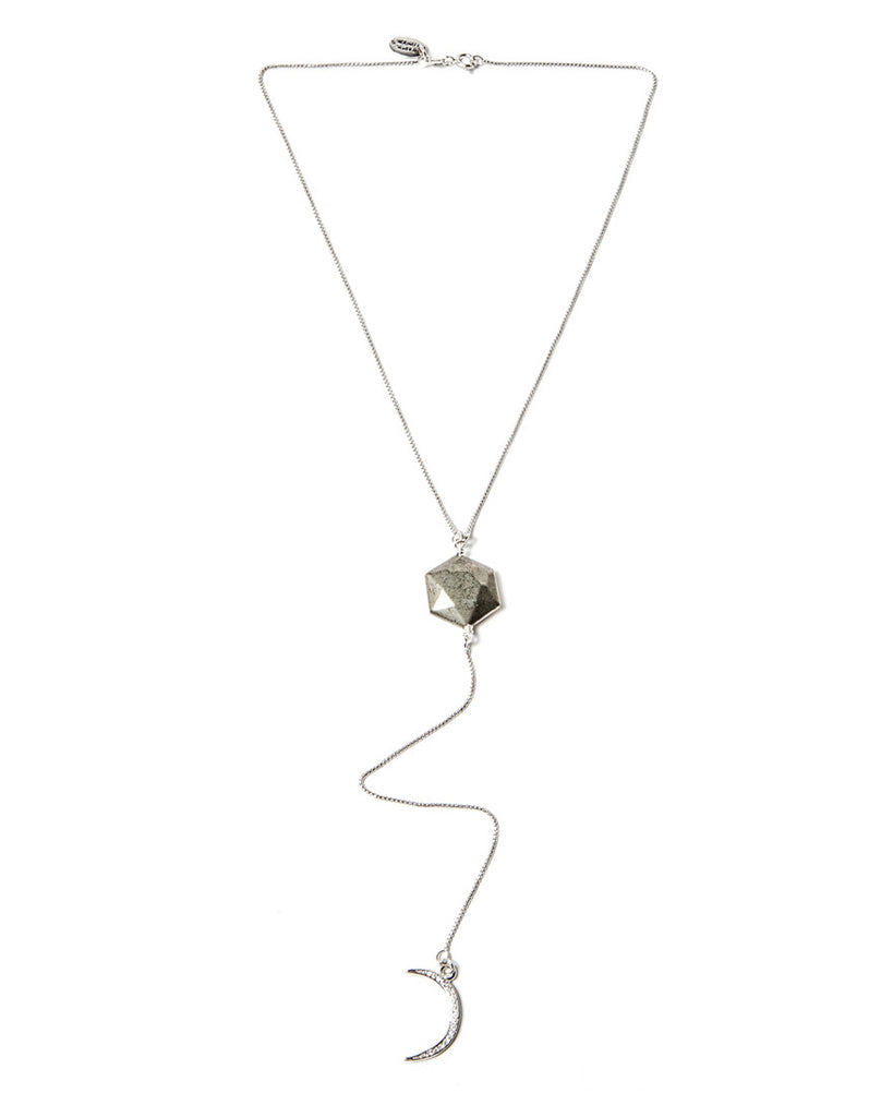 Sister Moon Lariat - Silver