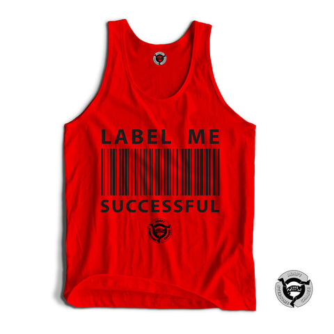 RED/BLACK LABEL ME SUCCESSFUL TANK