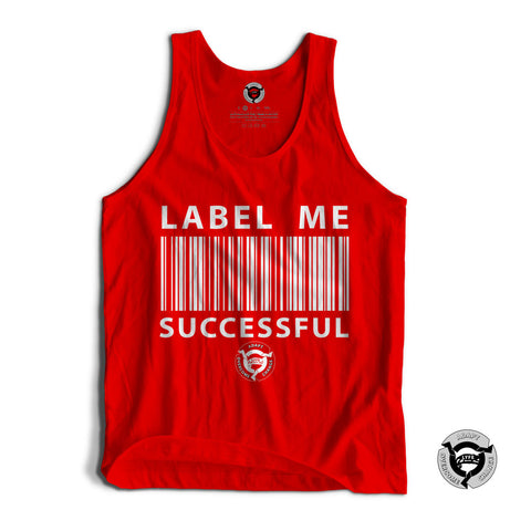 RED/WHITE LABEL ME SUCCESSFUL TANK