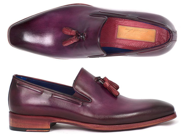 Paul Parkman Men's Tassel Loafer Purple (ID#5141PRP)