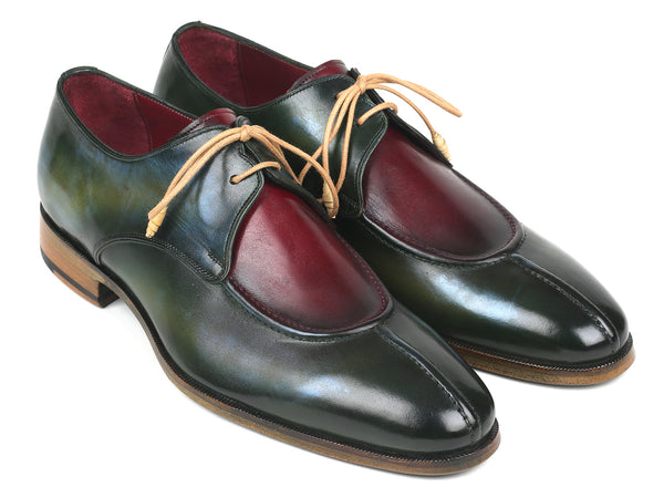 Paul Parkman Split Toe Men's Multi-Color Derby Shoes (ID#8864MLT)