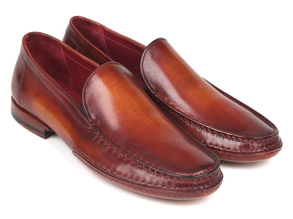 Paul Parkman Hand-Sewn Moccasins Brown (ID#MC651-BRW)
