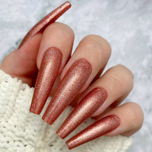 Hot Toddy Glitter - Gel Polish