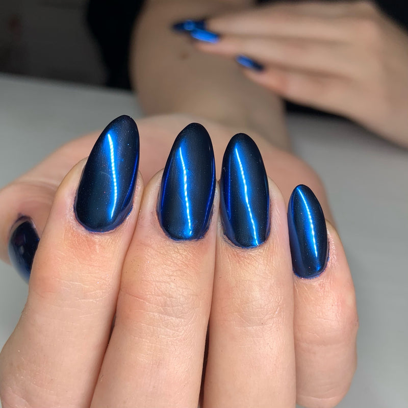 Blue Chrome Powder