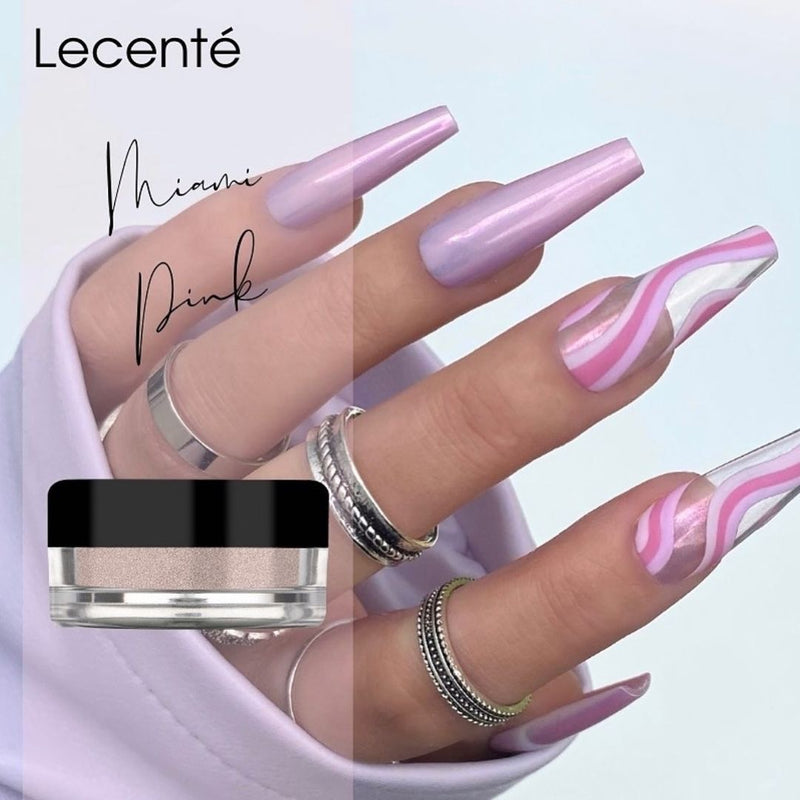 Miami Pink Pearlescent Powder
