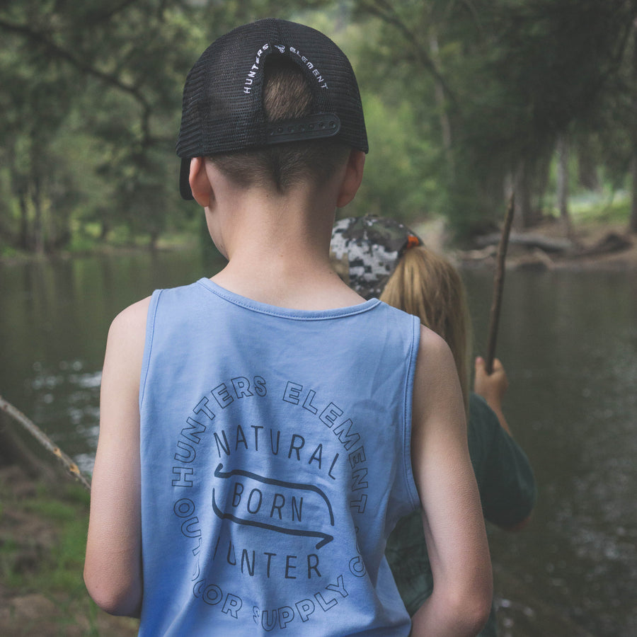 Born Hunter Singlet Kids