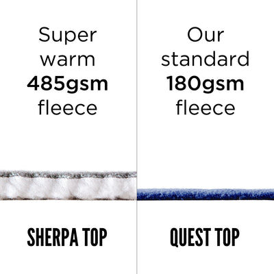 Sherpa Fleece Top