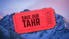 Help Save Our Tahr | Raffle Ticket