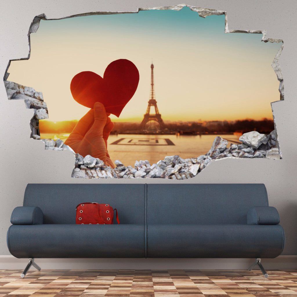 Love Wall Stickers | 3D Wall Decals | CAB.203