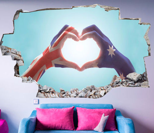 Love Wall Stickers | 3D Wall Decals | CAB.204
