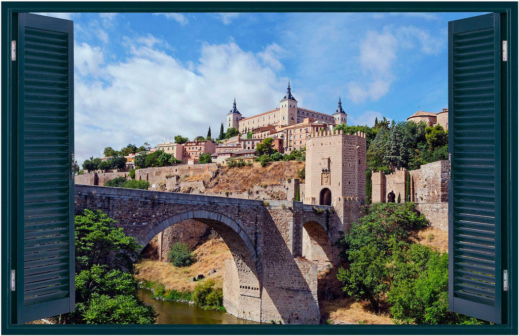Toledo Wall Decals | Toledo Decorative Vinyl | ALC.28