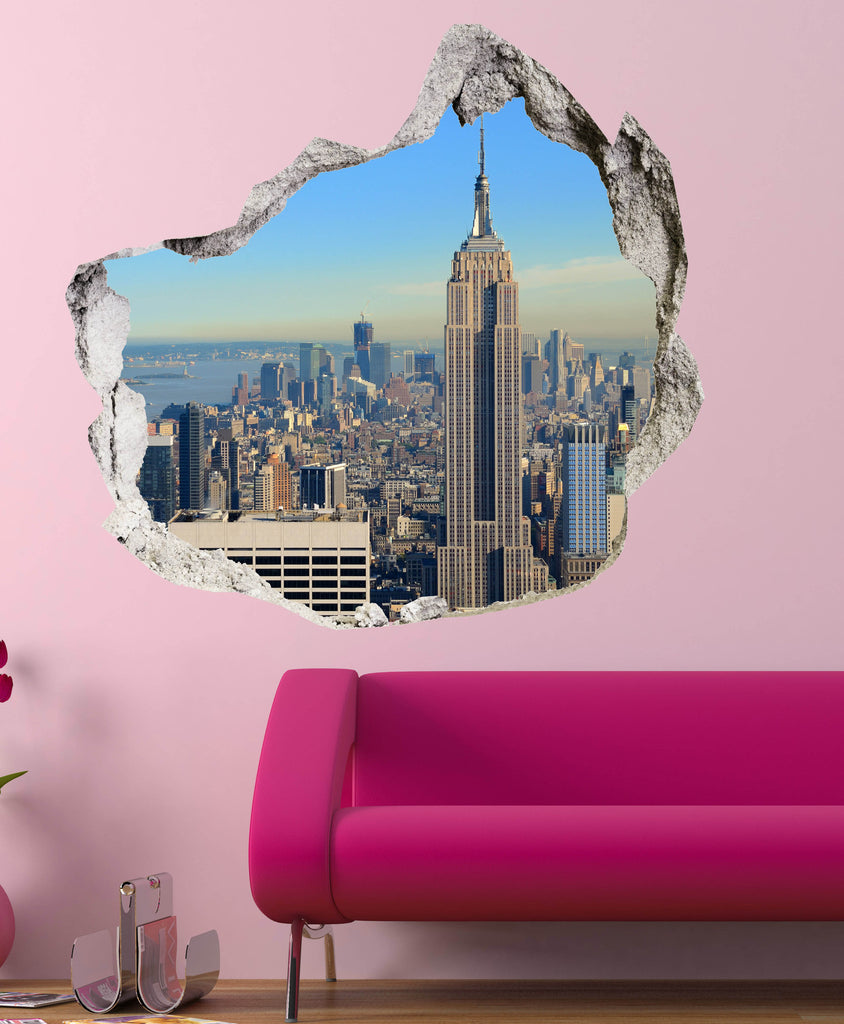 BROKEN WALL 3D - EMPIRE STATE BUILDING - AMAII.18