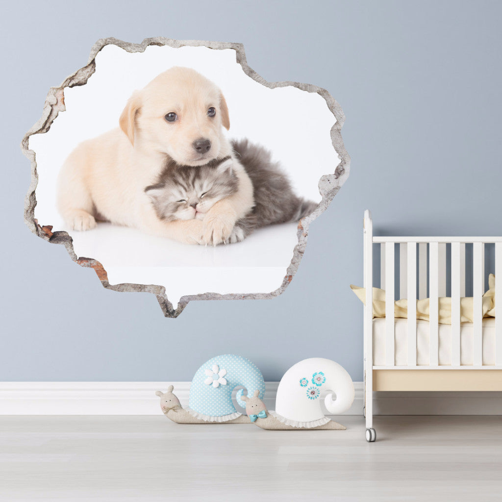 Animals Wall Stickers | Broken Wall Decals | AMAIII.56
