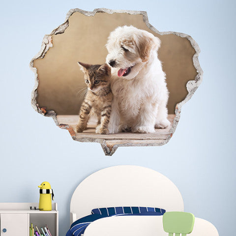 Animals Wall Stickers | Broken Wall Decals | AMAIII.59