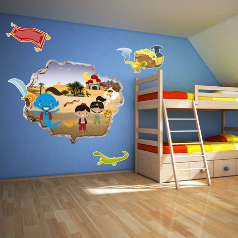 Aladin Wall Stickers | Kids Wall Decals | AMAIII.84