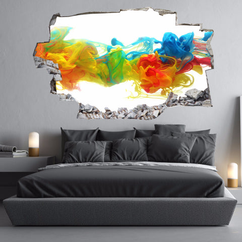 Colours Wall Decals | Universe Wall Stickers | Vinyl 3d | CAB.110