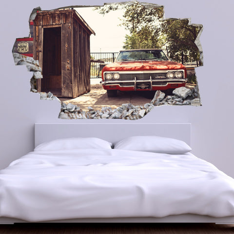 Car Wall Decals | Car Wall Stickers | Vinyl 3d |