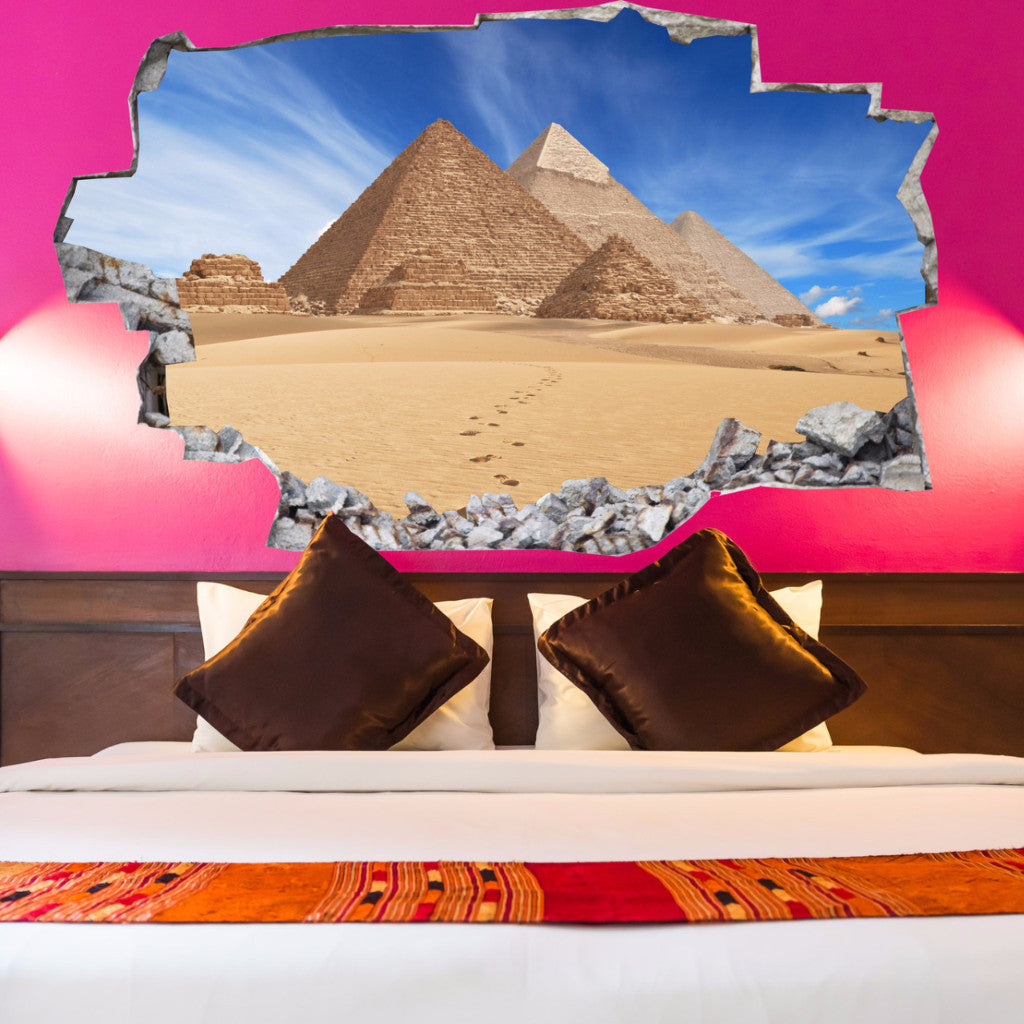 Egypt Wall Decals | Egypt Wall Stickers | Vinyl 3d