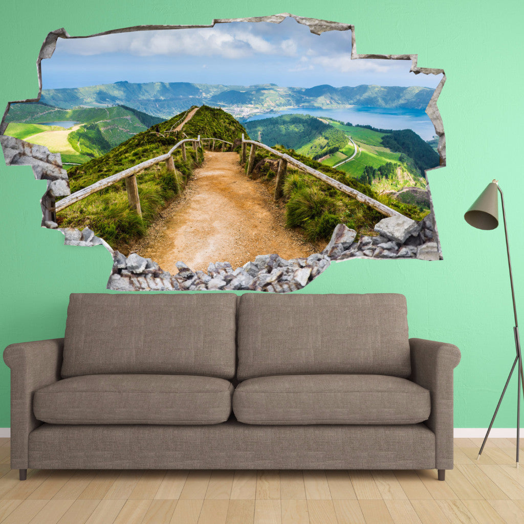 Landscape Wall Decals | Landscape Wall Stickers | Vinyl 3d